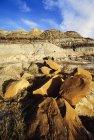 Rocce e colline all'aperto — Foto stock