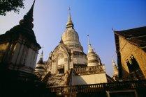 Храм ВАТ suan doc — стокове фото