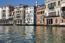 Reflections On Grand Canal — Stock Photo