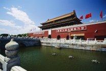 Puerta de Tiananmen, Beijing - foto de stock