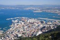 Bucht mit Blick auf Spanien — Stockfoto