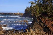 Farol de Cape Arago — Fotografia de Stock