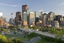 Blick auf die Stadt Calgary — Stockfoto
