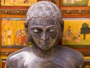 Tête de statue de Bouddha — Photo de stock