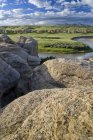 Річковий потік води — стокове фото