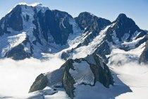 Гора Кука диапазон, Новая Зеландия — стоковое фото