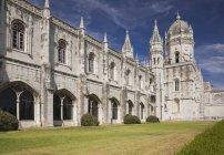 Monastère des Hiéronymites; Lisbonne — Photo de stock