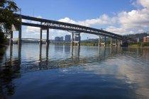 Моста и набережной Портленд — стоковое фото