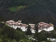 Trongsa District Bhutan — Stock Photo