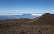 Вулканические Хилл на вершине — стоковое фото