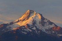 Схід сонця над Mount Hood — стокове фото