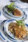 Cibo asiatico dal ristorante — Foto stock