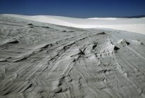 Піщані дюни проти неба — стокове фото