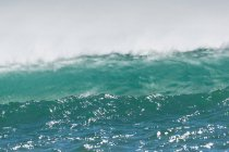 Green and blue Waves — Stock Photo