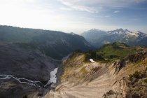 Montañas Tatoosh en Paradise Park - foto de stock