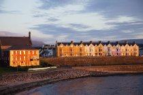 Coastal Irish Town — Stock Photo
