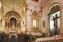 Святилище чудес Господа Иисуса — стоковое фото