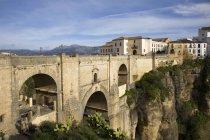 The Bridge In The City, Ronda — Stock Photo