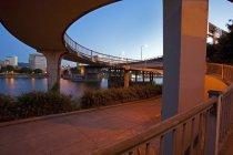 La rivière Willamette et Portland — Photo de stock