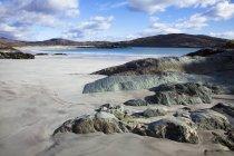 Derrynane praia ao longo da costa — Fotografia de Stock
