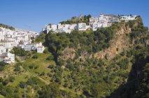 Case sulla cima di collina — Foto stock