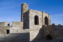 Entlang der Stadtmauern, Marokko — Stockfoto