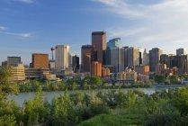 Blick auf Calgary bei Tag — Stockfoto