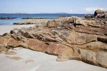 Côte rocheuse; Connemara — Photo de stock