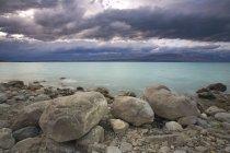 Скелясті озера — стокове фото