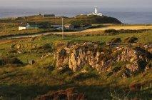 Fanad Lighthouse on shore — Stock Photo