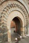Decorativos archwa em Marrakesh — Fotografia de Stock