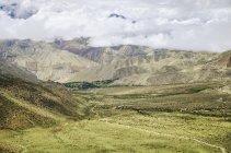 Paysage de montagne haut mustang — Photo de stock