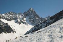 Skigebiet Les grands montets — Stockfoto