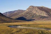 Brooks range gates of arctic national park — Stock Photo