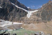 Ангел ледником; Альберта Канада — стоковое фото