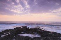Sunset at kailua-kona — Stock Photo