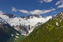 Coastal Mountain Range North Of Skagway — Stock Photo