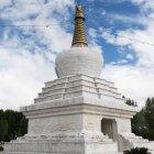 Structure bouddhiste; Xizang — Photo de stock