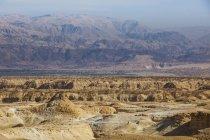 Paysage de la vallée du Jourdain — Photo de stock