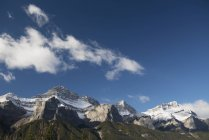 Канадские Скалистые горы — стоковое фото