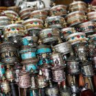 Traditional chinese items;Lhasa — Stock Photo