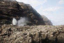Nebbia da spruzzare acqua — Foto stock