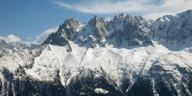 Aspra catena montuosa delle Alpi francesi — Foto stock