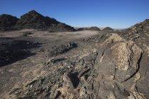 Графит скалы в точке Диас — стоковое фото