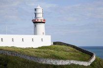 Galley head lighthouse — Stock Photo