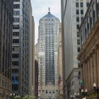 Chicago board of trade building — Stock Photo