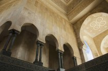 Fachada adornada en las paredes - foto de stock
