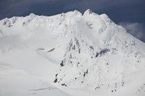 Snow Covered Mountain — Stock Photo