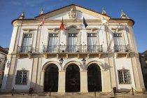 Bandiere Fodera Balcone — Foto stock