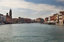 Grand Canal surrounded by buildings — Stock Photo